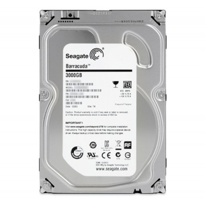 Жесткий диск 3Тб ST3000DM001 Seagate