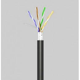 Кабель OK-Net КППЭ-ВП (100) FTP кат.5е, 4х2х0.51 бухта 305м (FTP медь наружный)