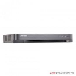 4-канальный Turbo HD видеорегистратор Hikvision DS-7204HQHI-K1