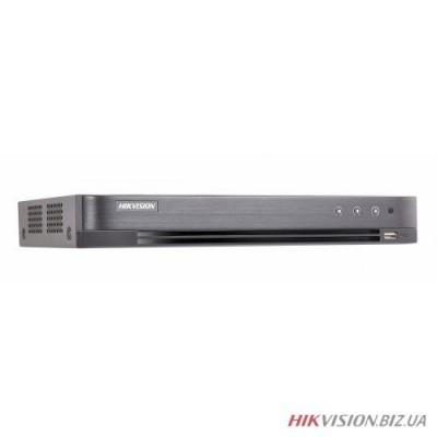 8-канальный Turbo HD видеорегистратор Hikvision DS-7208HQHI-K1 4 аудио