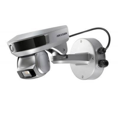 2Мп камера дальнего просмотра + 2Мп PTZ-камера слежения, 10х Hikvision iDS-2PT9122IX-D/F (5-50мм)