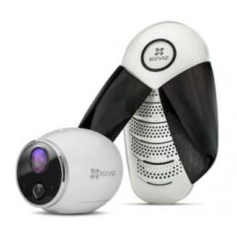 1Mп Wi-Fi камера на батарейках EZVIZ с базовой станцией CS-W2S-EUP-B1