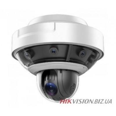 16 МП панорамная + PTZ PanoVU видеокамера Hikvision DS-2DP1636Z-D (5мм)